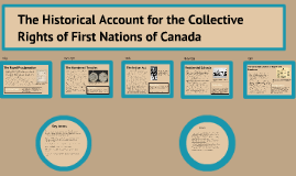 First nations timeline