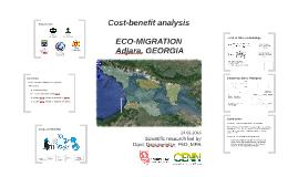Cost-benefit analyses of Eco-migration in Adjara, Georgia
