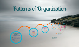 Patterns of Organization