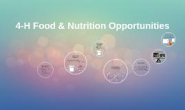 4-H Food & Nutrition