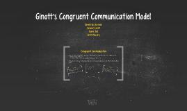 Ginott's Congruent Communication Model