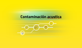 Contaminación acustica