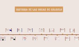 Historia de la hojas de calculo