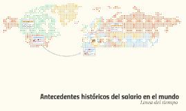 Antecedentes históricos del salario en el mundo
