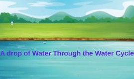 A drop of Water Through the Water Cycle