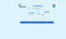 Educación para las personas jóvenes y Adultas