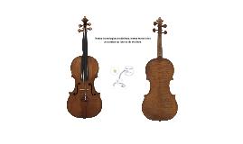 Novas tecnologias produtivas, novos materiais e processos na luteria de violinos.