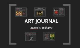Kemitt Williams: Art Journal