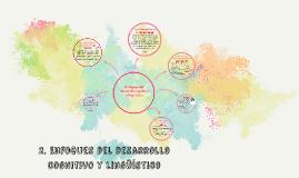 2. Enfoques del desarrollo cognitivo y lingüístico