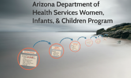 Arizona Department of Health Services Women, Infants, & Chil