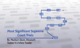 E.Tedder, L.Tedder, Davis - Landmark Cases - 1st Period
