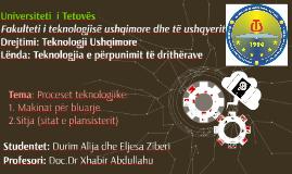 Teknologjia e perpunimit te dritherave