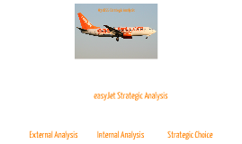 easyJet Strategic Analysis