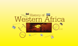 Copy of Western Africa