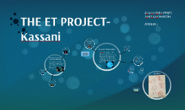 THE ET PROJECT