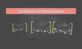 Combinación de Correspondencia