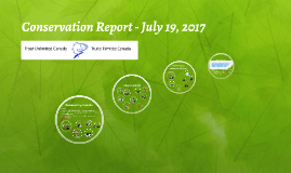 Conservation Report - July 18, 2017