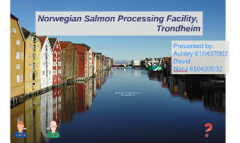 Copy of Norwegian Salmon Processing Facility, Trondheim