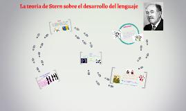 Copy of Copy of La teoria de Stern sobre el desarrollo del lenguaje