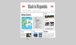 Afro- Hispanics