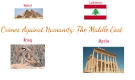 Crimes Against Humanity: The Middle East