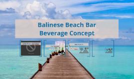 Balinesian Beach Concept