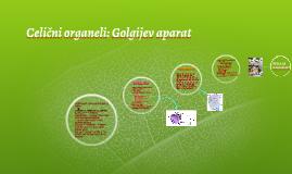 Celični organeli: Golgijev aparat