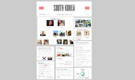 Culture Project: South Korea