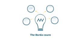 Borda Count Electoral system