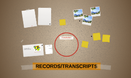 RECORDS/TRANSCRIPTS