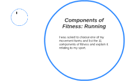 Components of Fitness: Running