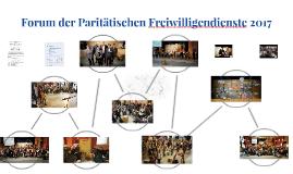 Forum der Paritätischen Freiwilligendienste