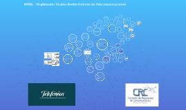 Copy of RITEL – Reglamento Técnico Redes Internas de Telecomunicacio