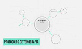 PROTOCOLOS EN TOMOGRAFIA