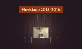 Noviciado 2015-2016