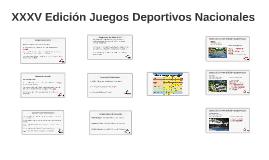 Copy of Juegos Deportivos Nacionales
