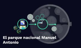 El parque nacional Manuel Antonio