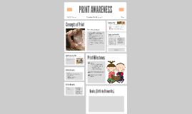 Copy of Print Awareness
