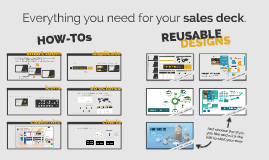 Sales & Marketing Toolkit Tutorial