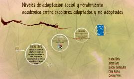 ¿Cuales son los niveles de adaptacion social entre niños
