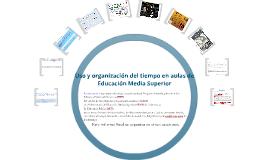 Uso y Organización del tiempo en el aula