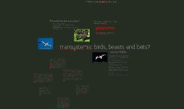 Transystemia: birds, beasts and bats