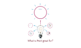 What is Prezi great for?