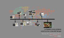 Linea del tiempo en sistemas constructivos