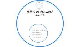 A line in the sand Part 2