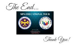 MPA Educational Tour