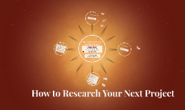 Westside 2018 How to Research Your next Best Project