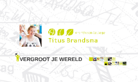 Copy of Titus Brandsma vergroot je wereld!