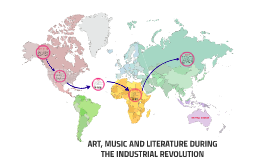 ART, MUSIC AND LITERATURE DURING THE INDUSTRIAL REVOLUTION