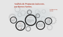 """Copy of Análisis de """"Propuesta indecente"""" por Romeo Santos."""